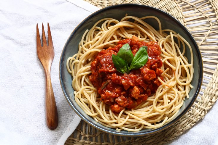 spaghetti végétarienne