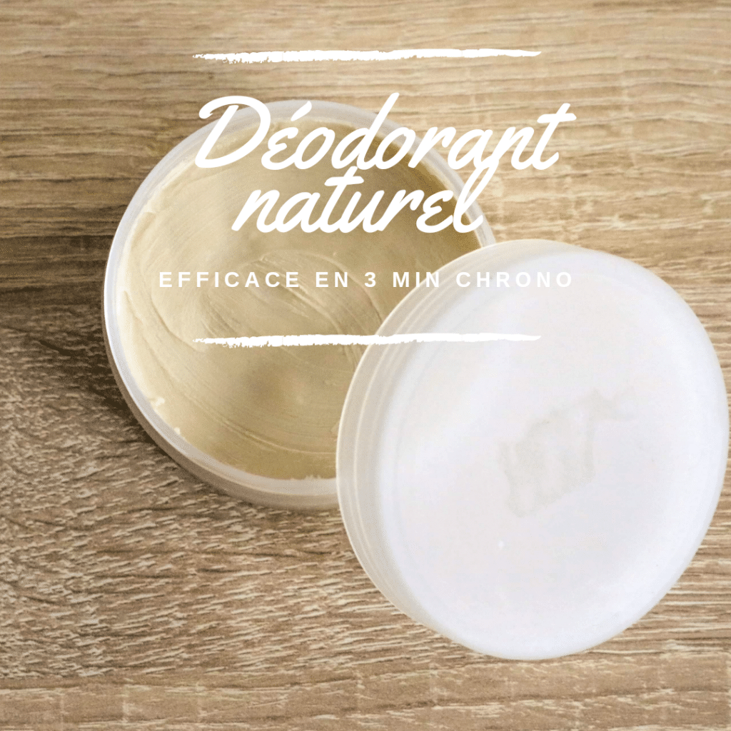 Déodorant naturel & efficace by yourself