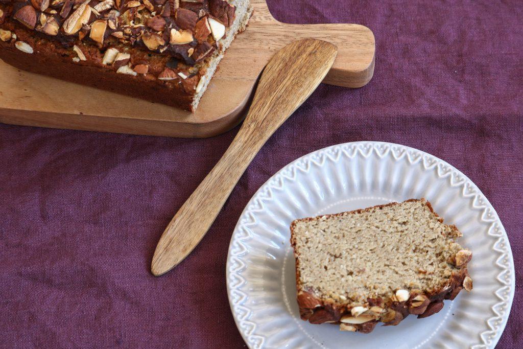 Cake protéiné amande et pois chiche sans gluten