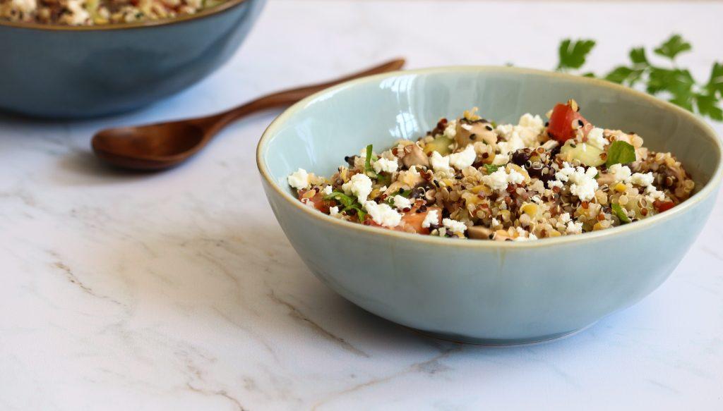Taboulé complet de quinoa