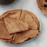 crêpes à la farine de châtaigne sans gluten