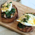 toasts œufs à la florentine