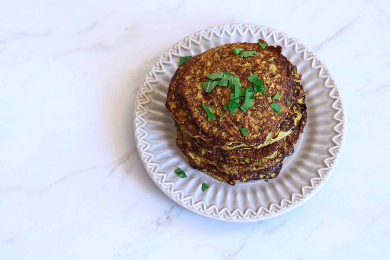 Pancakes de légumes sans farine