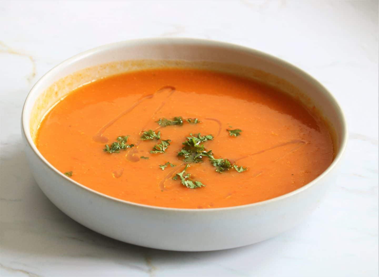 Soupe de butternut réconfortante